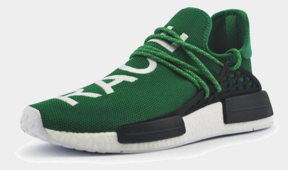 Adidas NMD X Pharell Human Race Green